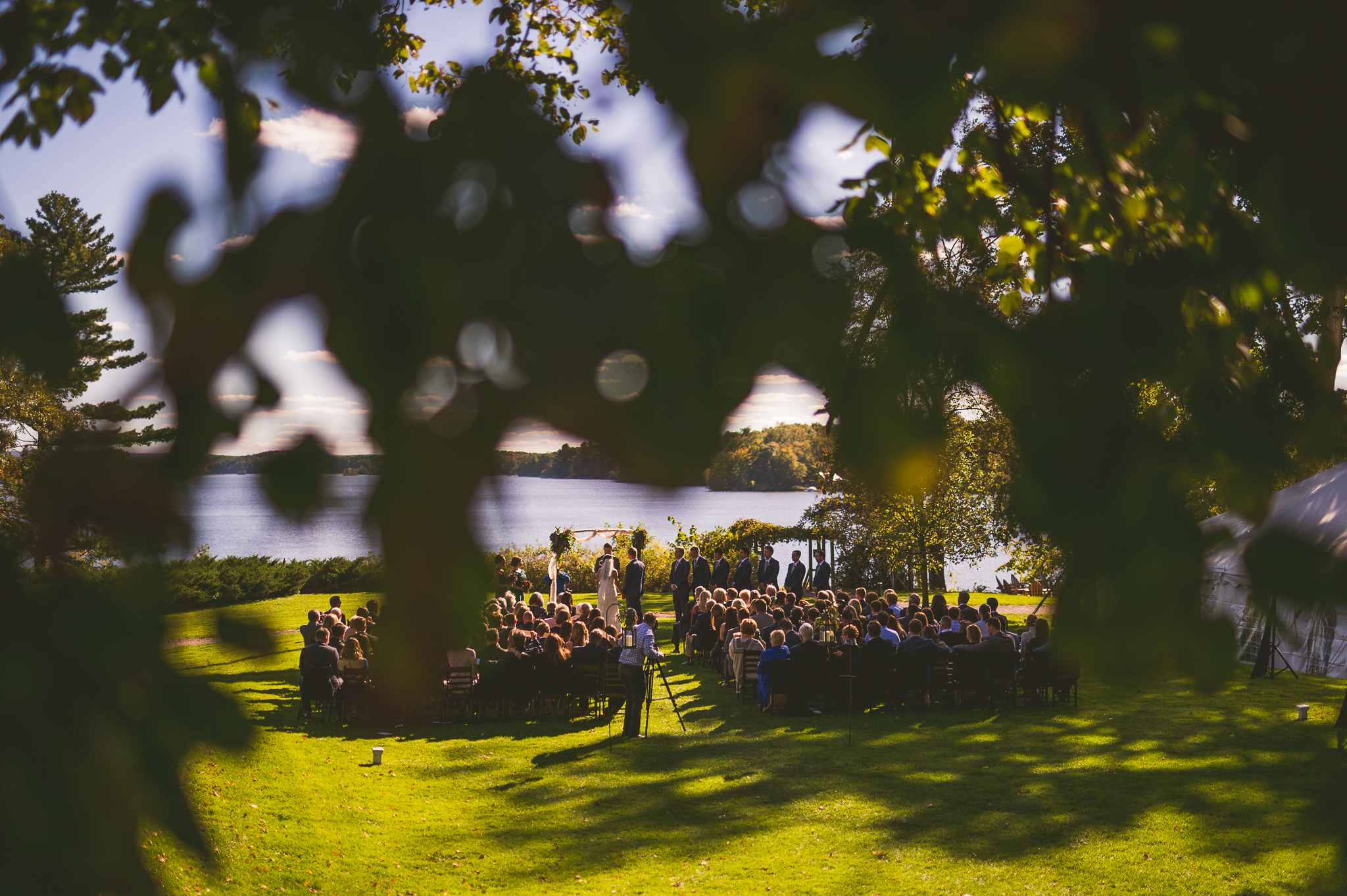 04 wedding at stouts island - Mandy + Mike // Amazing Wedding at Stout's Island Wisconsin Preview