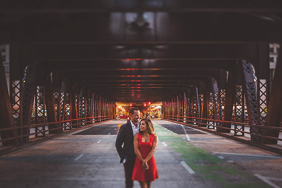 05 chicago bridges engagement photos