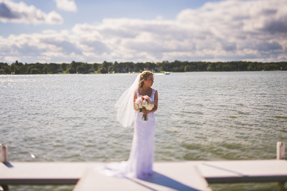 28 bride portraits at cedar lake