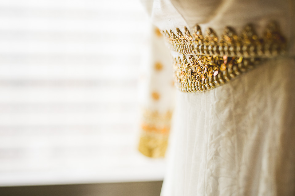 12 brides lehenga - Molly + Simul // Chicago Wedding Photos at Bridgeport Art Center