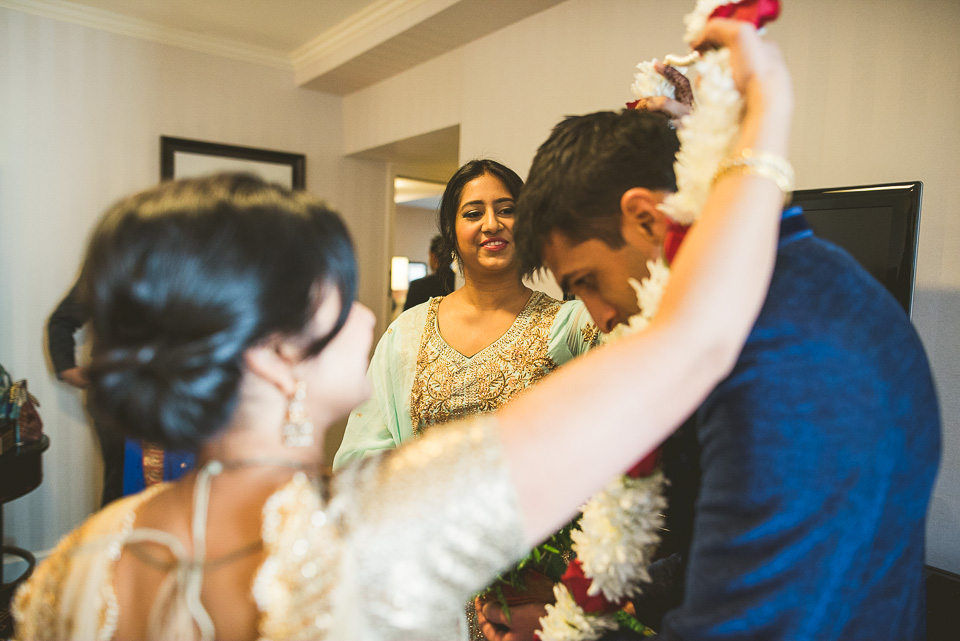 25 hindu lei - Molly + Simul // Chicago Wedding Photos at Bridgeport Art Center