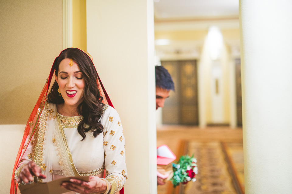 28 bride at palmer house - Molly + Simul // Chicago Wedding Photos at Bridgeport Art Center