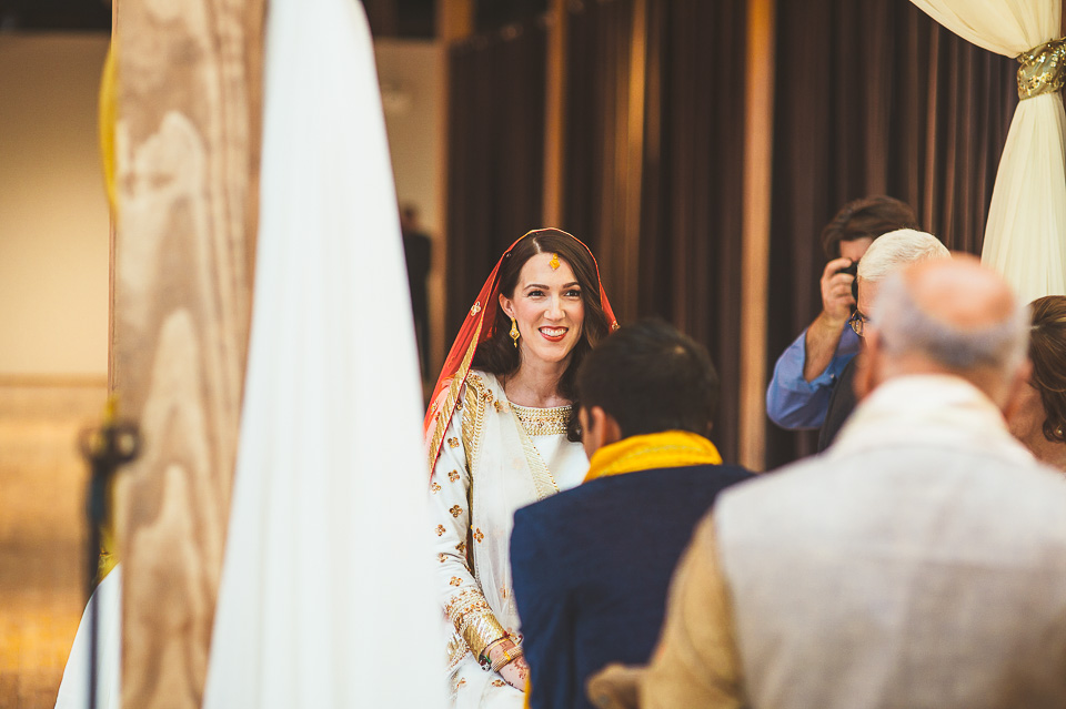 57 hindu bride - Molly + Simul // Chicago Wedding Photos at Bridgeport Art Center