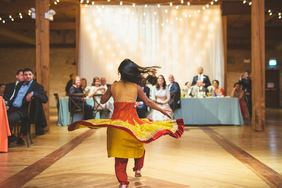 80 dancing presentation - Molly + Simul // Chicago Wedding Photos at Bridgeport Art Center