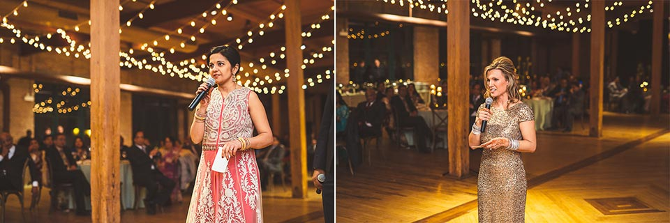 83 maid of honors speech - Molly + Simul // Chicago Wedding Photos at Bridgeport Art Center