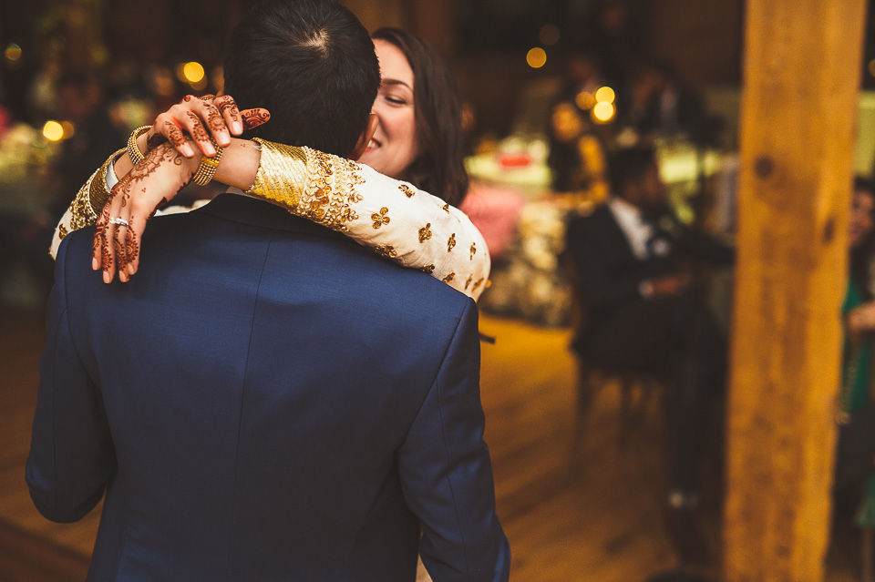 87 bride and groom dance - Molly + Simul // Chicago Wedding Photos at Bridgeport Art Center