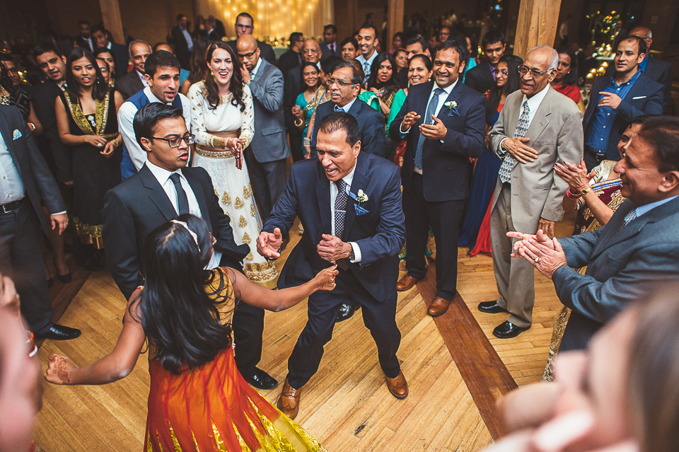89 dancing at reception - Molly + Simul // Chicago Wedding Photos at Bridgeport Art Center