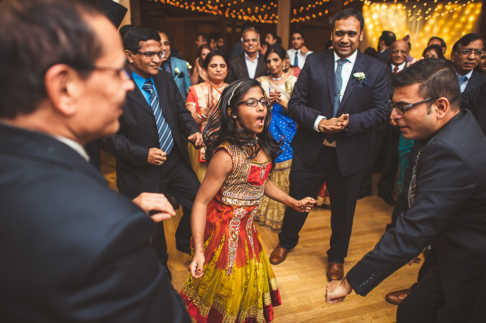 90 hindu wedding reception - Molly + Simul // Chicago Wedding Photos at Bridgeport Art Center