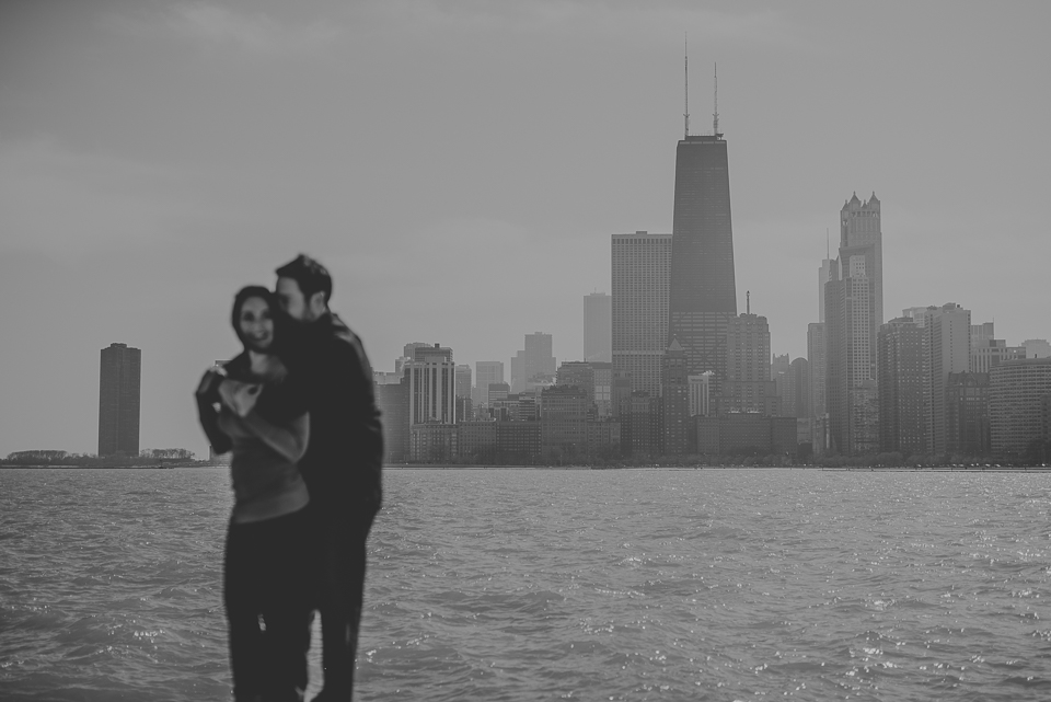 01 chicago wedding photographer - Downtown Chicago Engagement Photos // Rachael + George