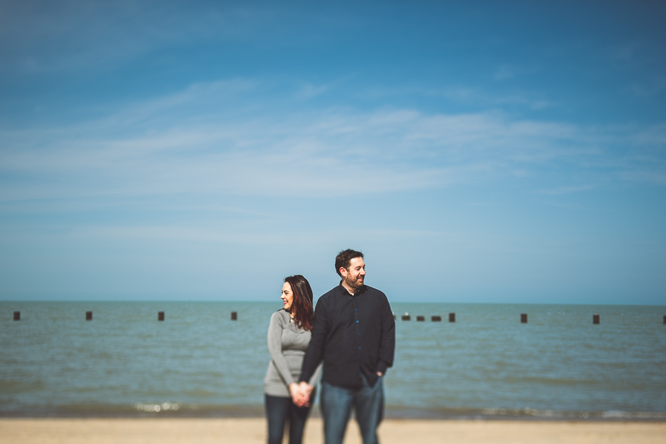 03 north avenue beach photography - Downtown Chicago Engagement Photos // Rachael + George