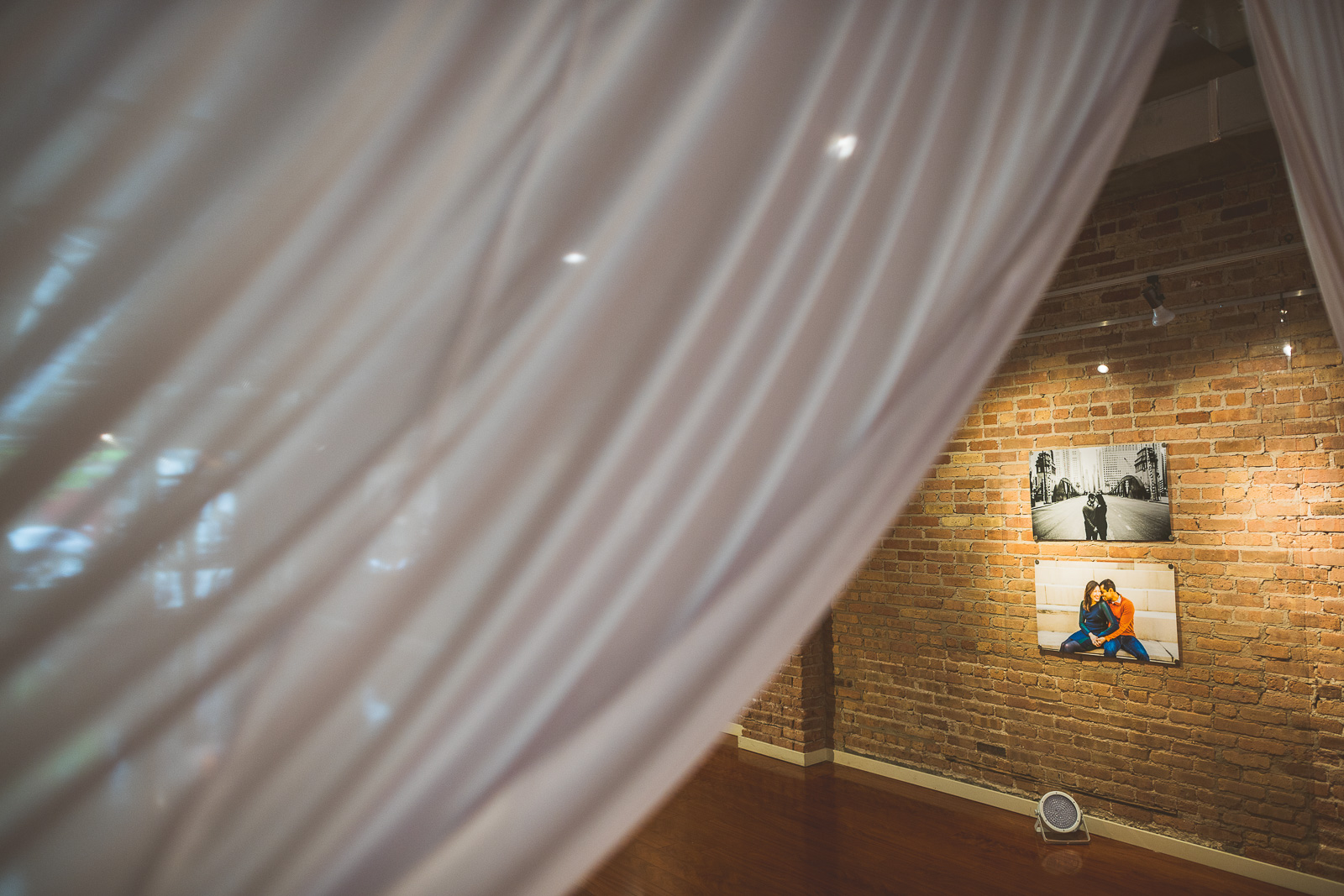 11 details at venue - Jackie + Raj // Chicago Wedding Photography at Floating World Gallery