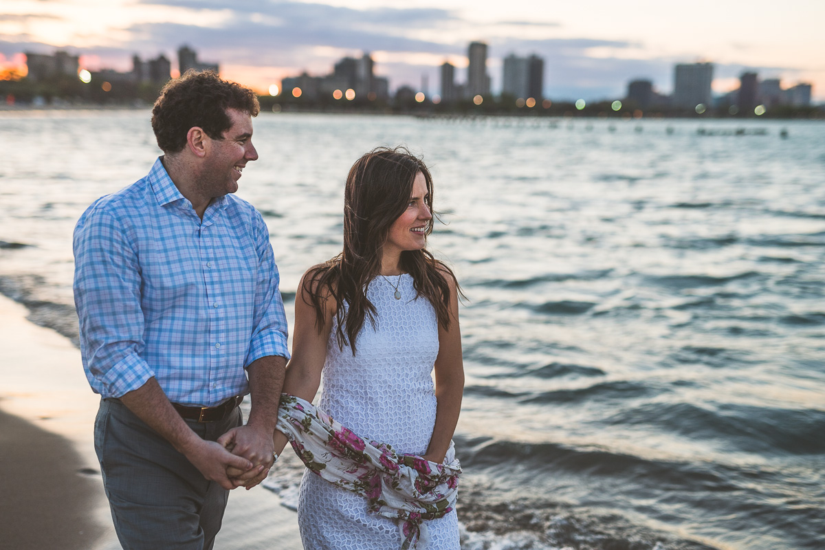 11 sunset beach photos for engagements