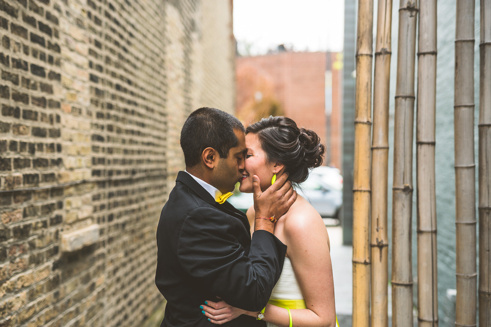 20 best first look - Jackie + Raj // Chicago Wedding Photography at Floating World Gallery