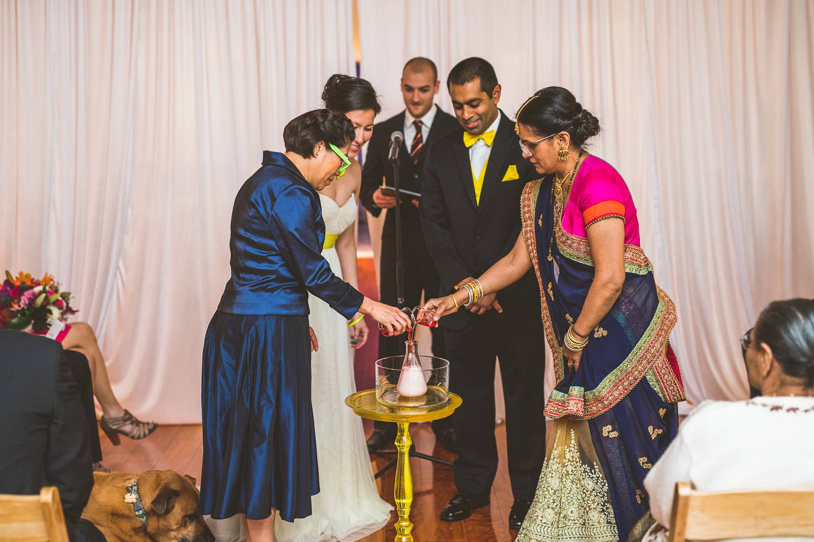 33 science stuff - Jackie + Raj // Chicago Wedding Photography at Floating World Gallery