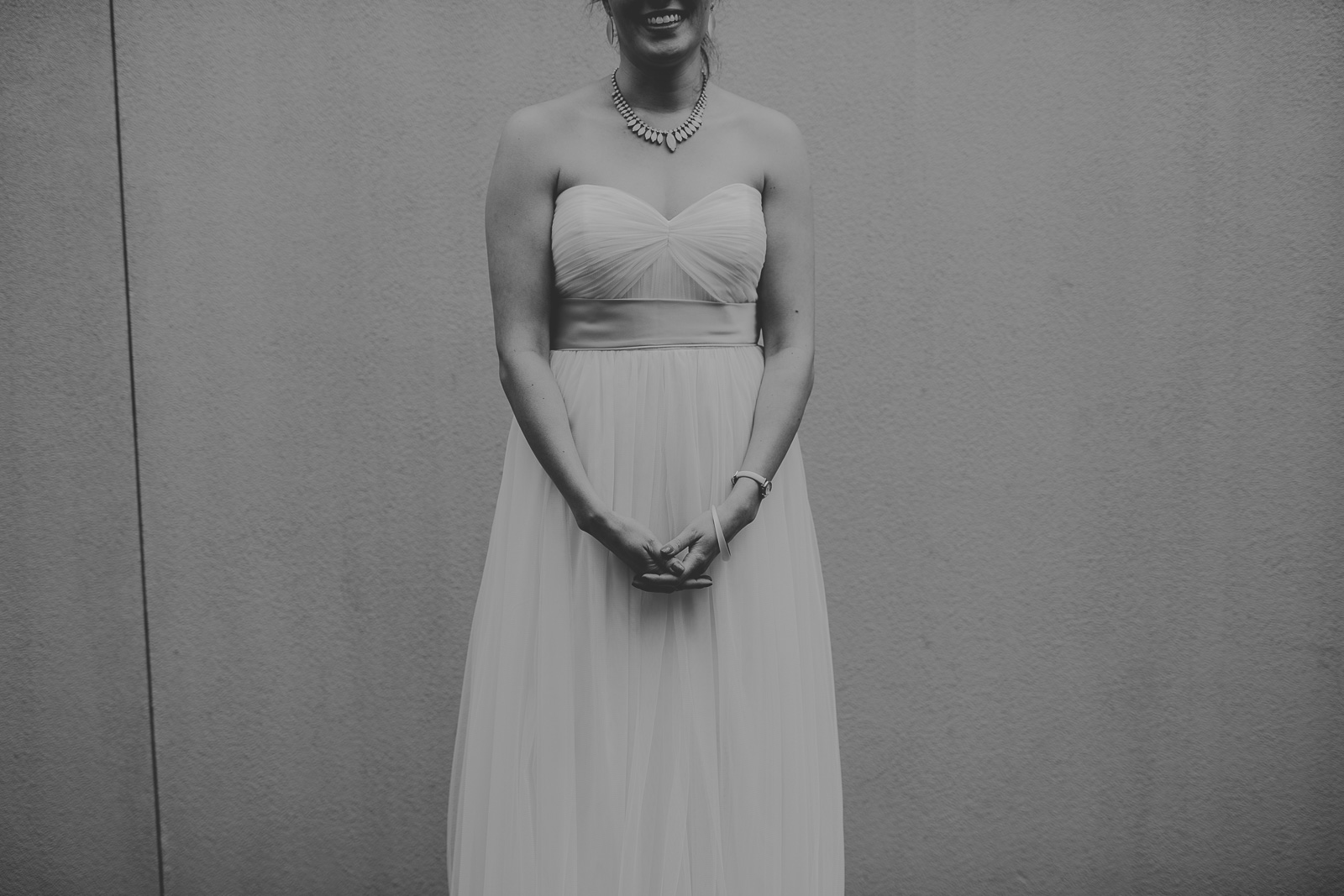 37 2 black and white bride portrait - Jackie + Raj // Chicago Wedding Photography at Floating World Gallery