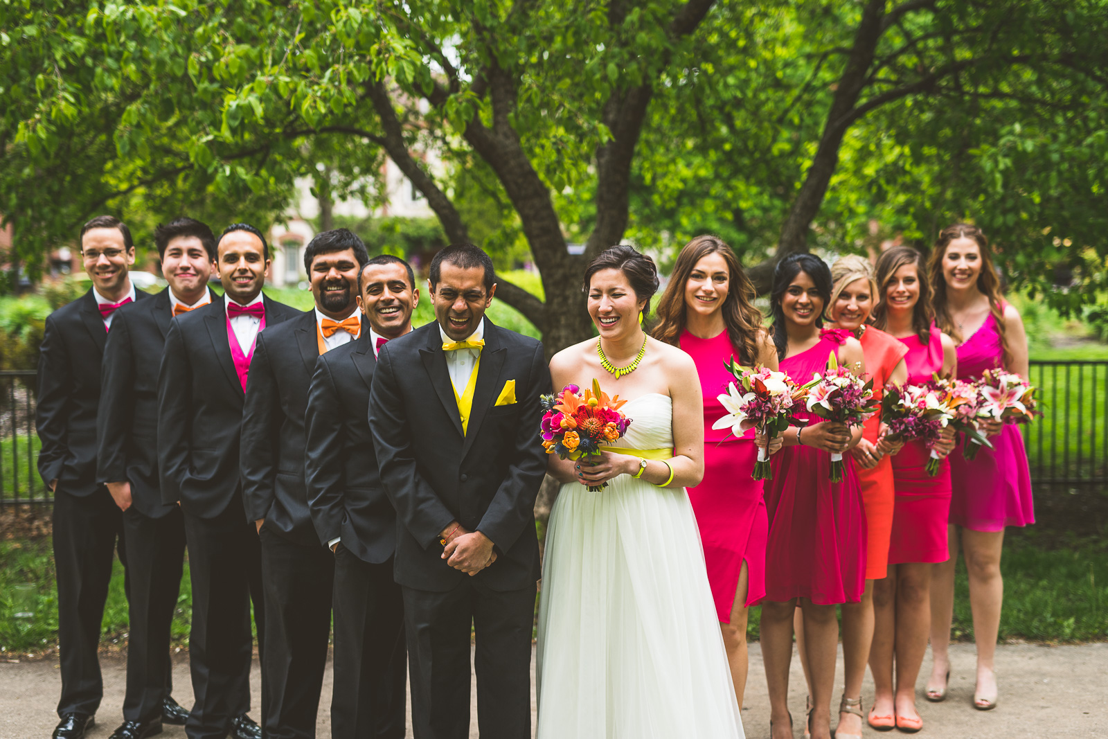 40 bridal party photos - Jackie + Raj // Chicago Wedding Photography at Floating World Gallery