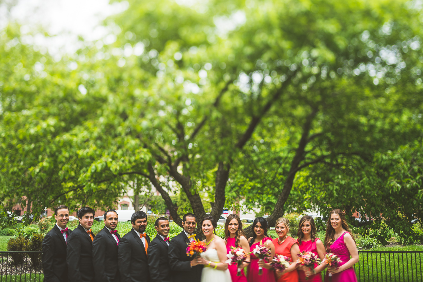 41 best bridal party photos - Jackie + Raj // Chicago Wedding Photography at Floating World Gallery