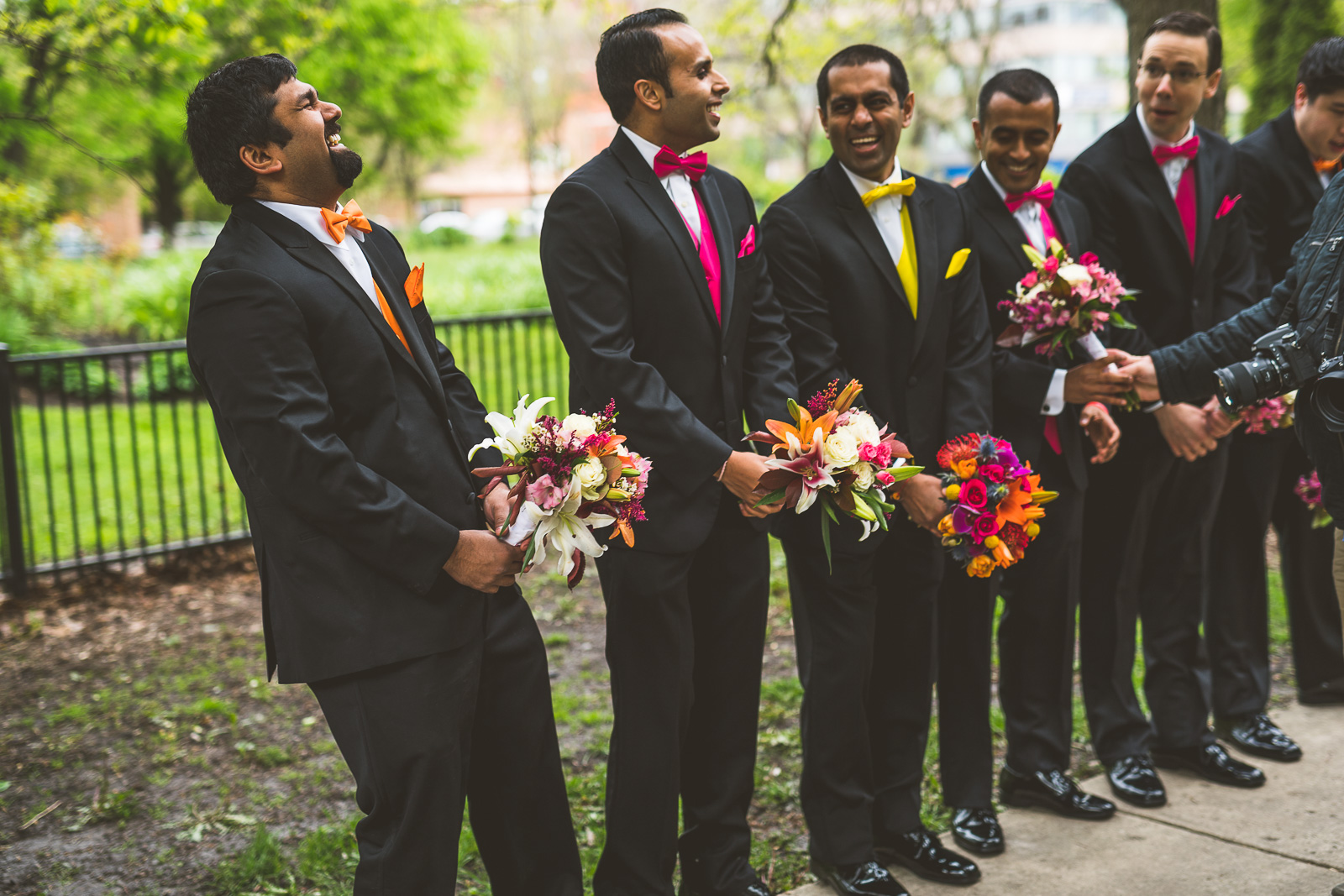 47 silly bridal party