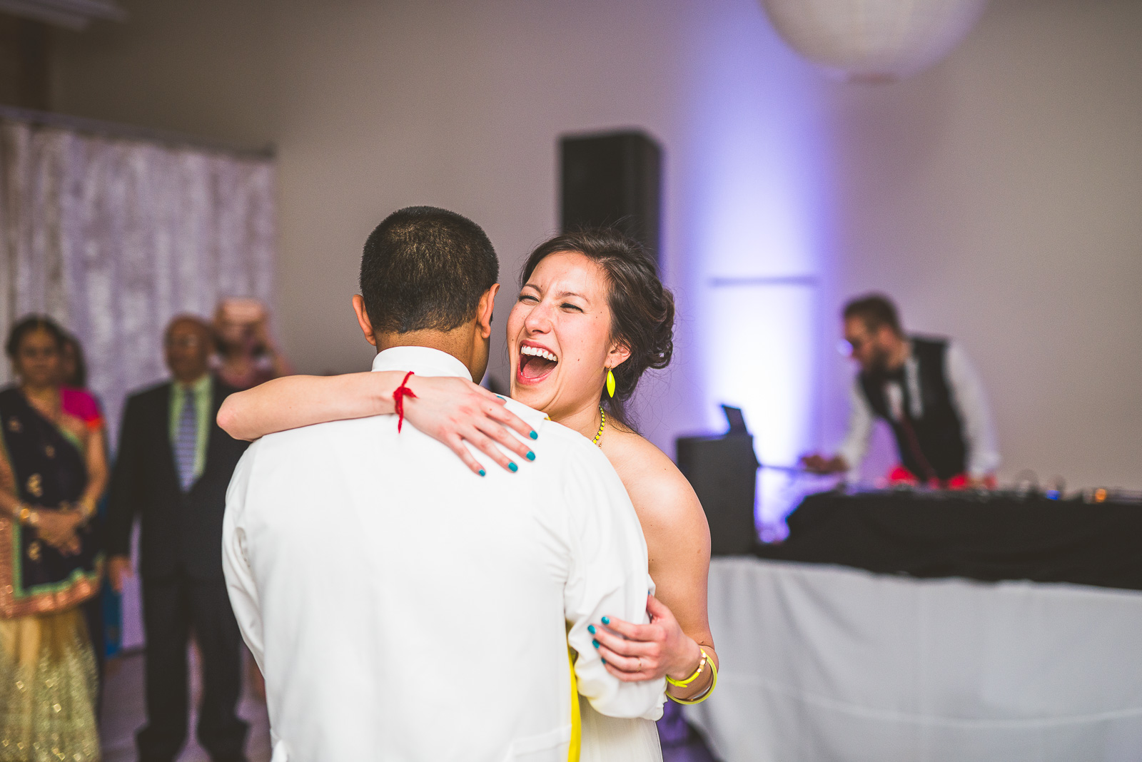 58 first dance - Jackie + Raj // Chicago Wedding Photography at Floating World Gallery