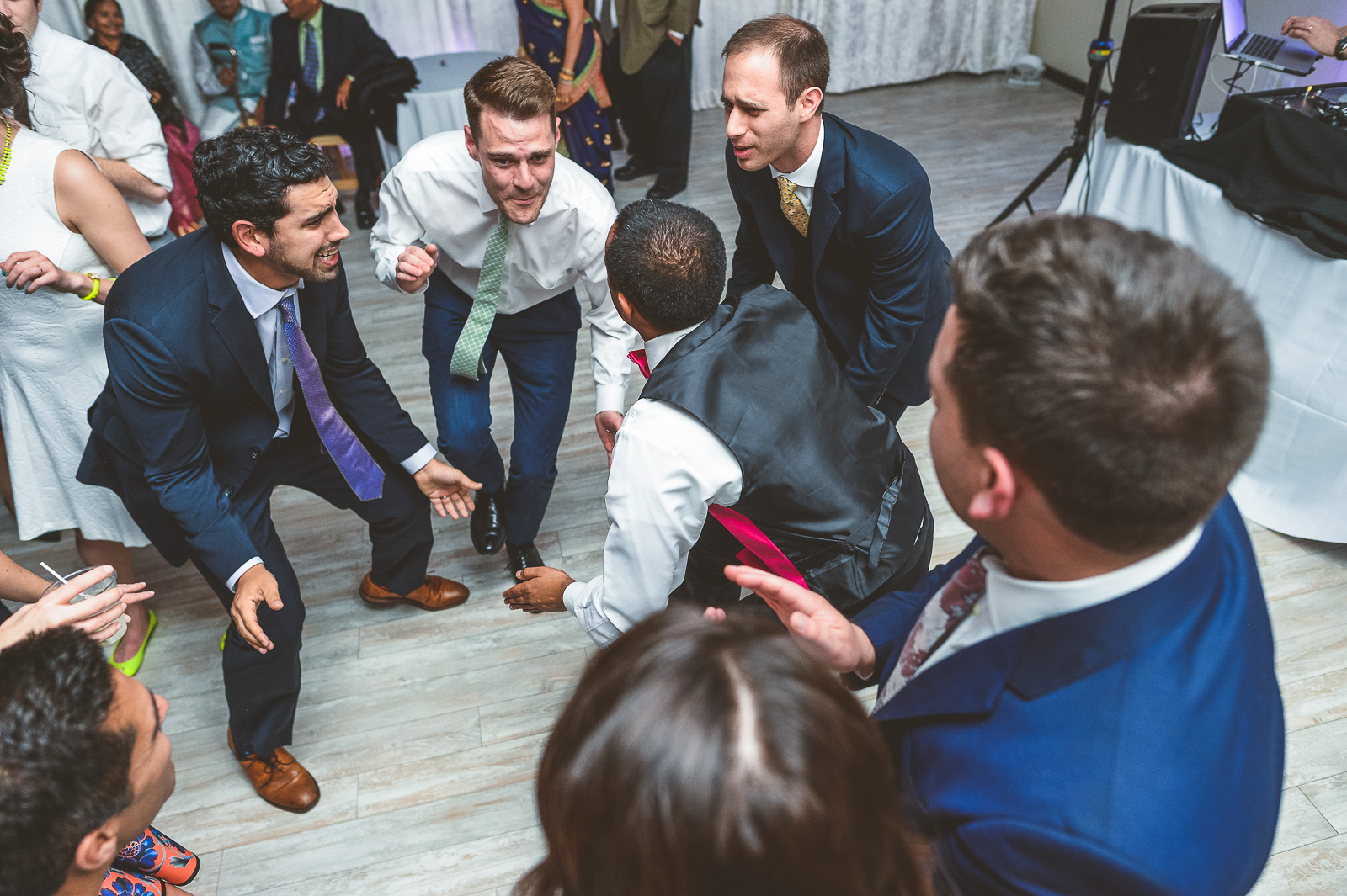 69 best dancing - Jackie + Raj // Chicago Wedding Photography at Floating World Gallery