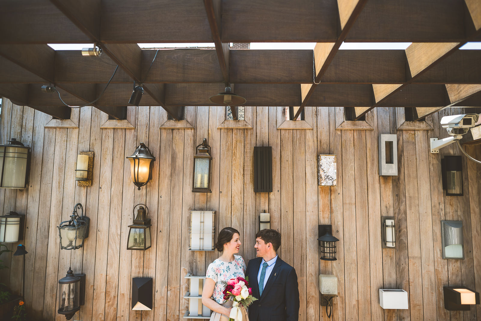 Megan + John // Chicago Elopement at Lightology