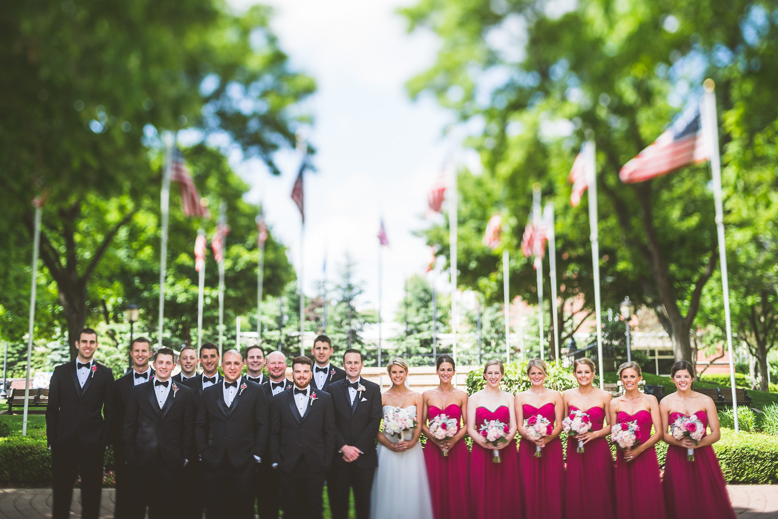 41 full bridal party