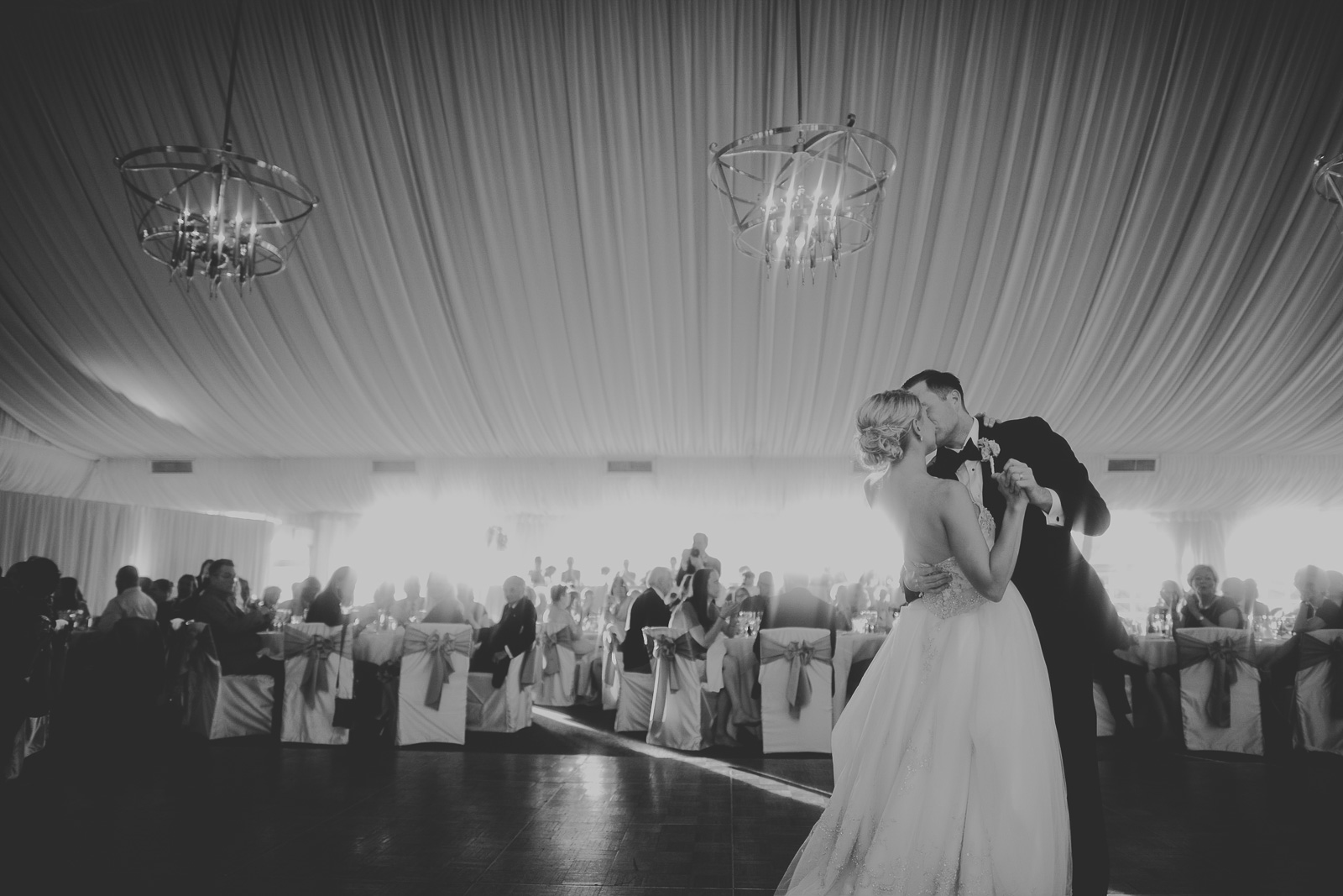 64 black and white first dance