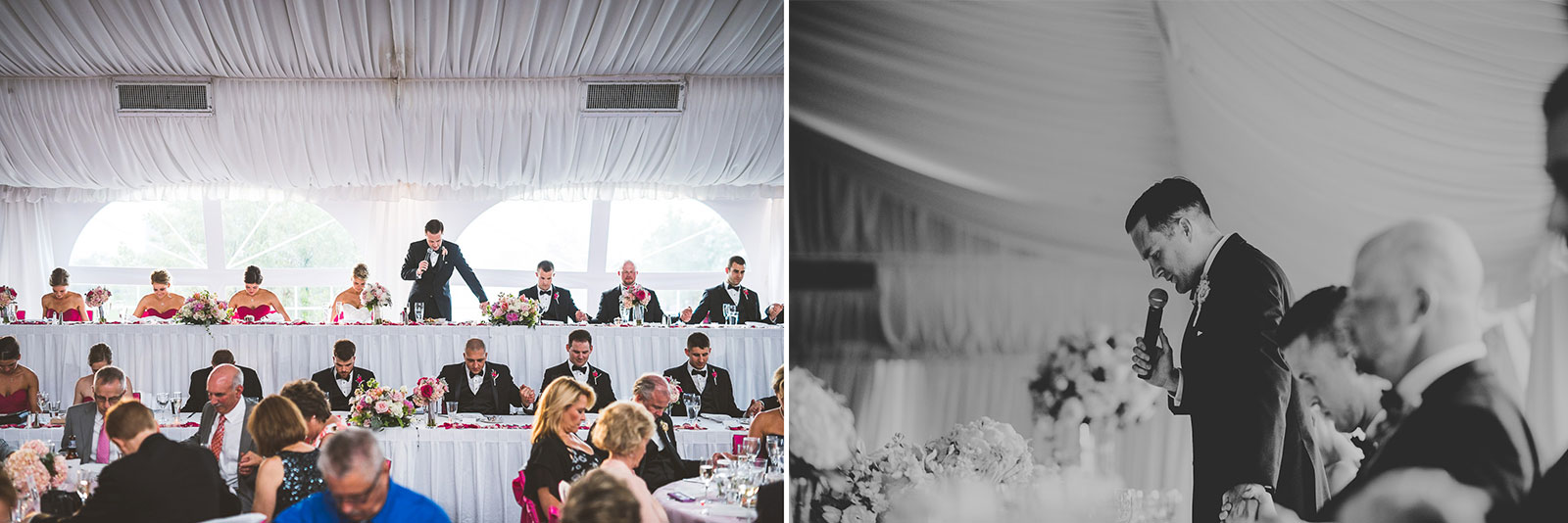 68 groom blessing1 - Kristina + Dave // Wedding Photographer in Chicago