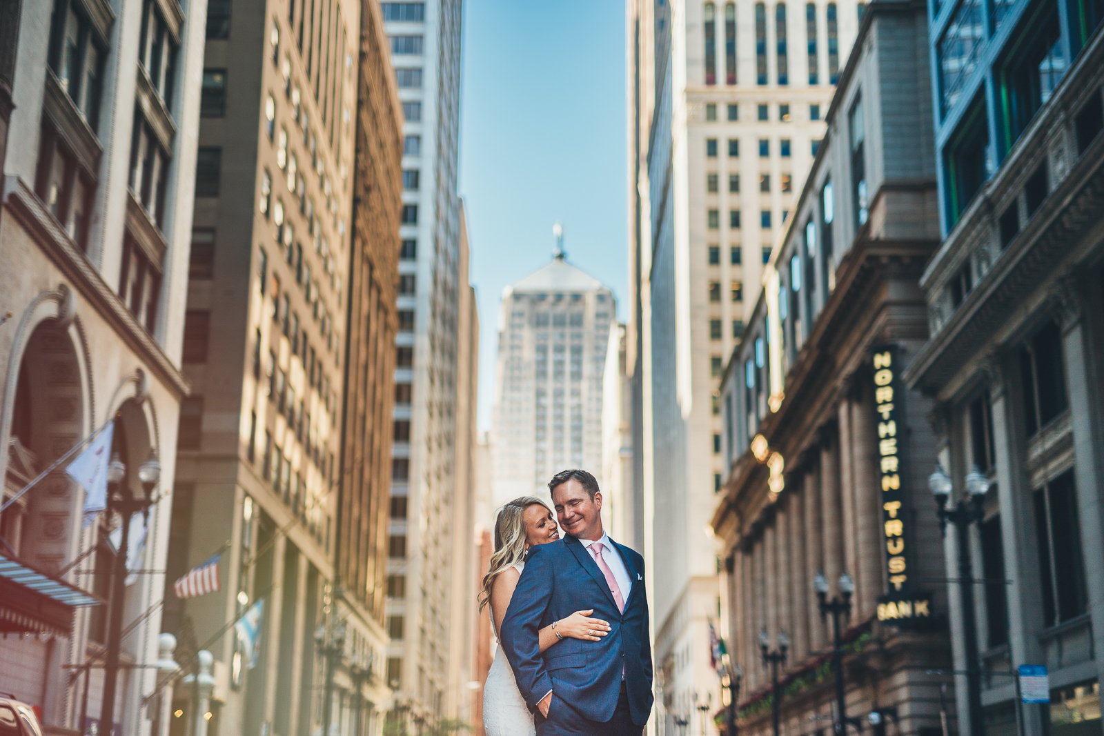 Liz + Patrick // Downtown Chicago Engagement Photos