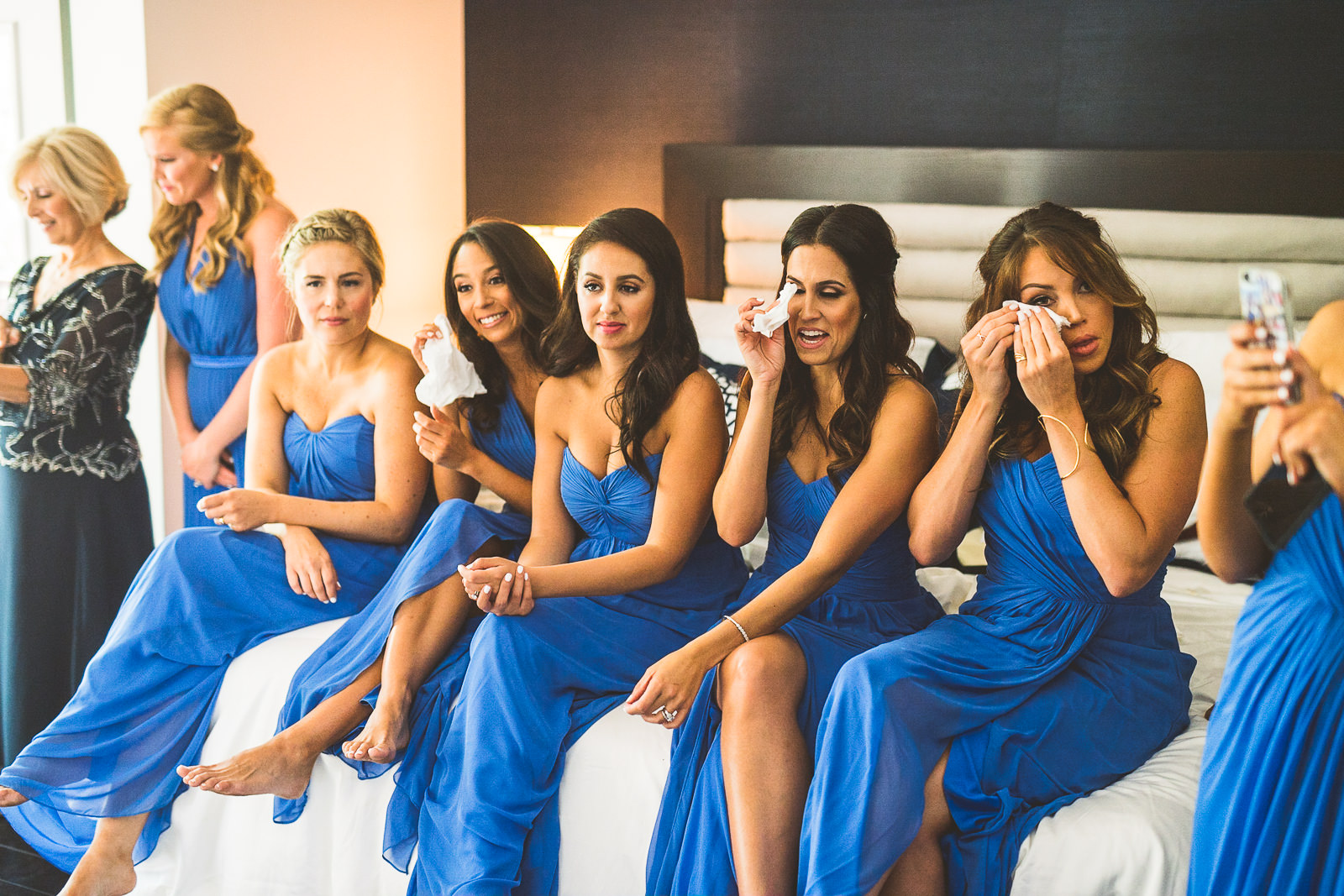 27 bridesmaids crying