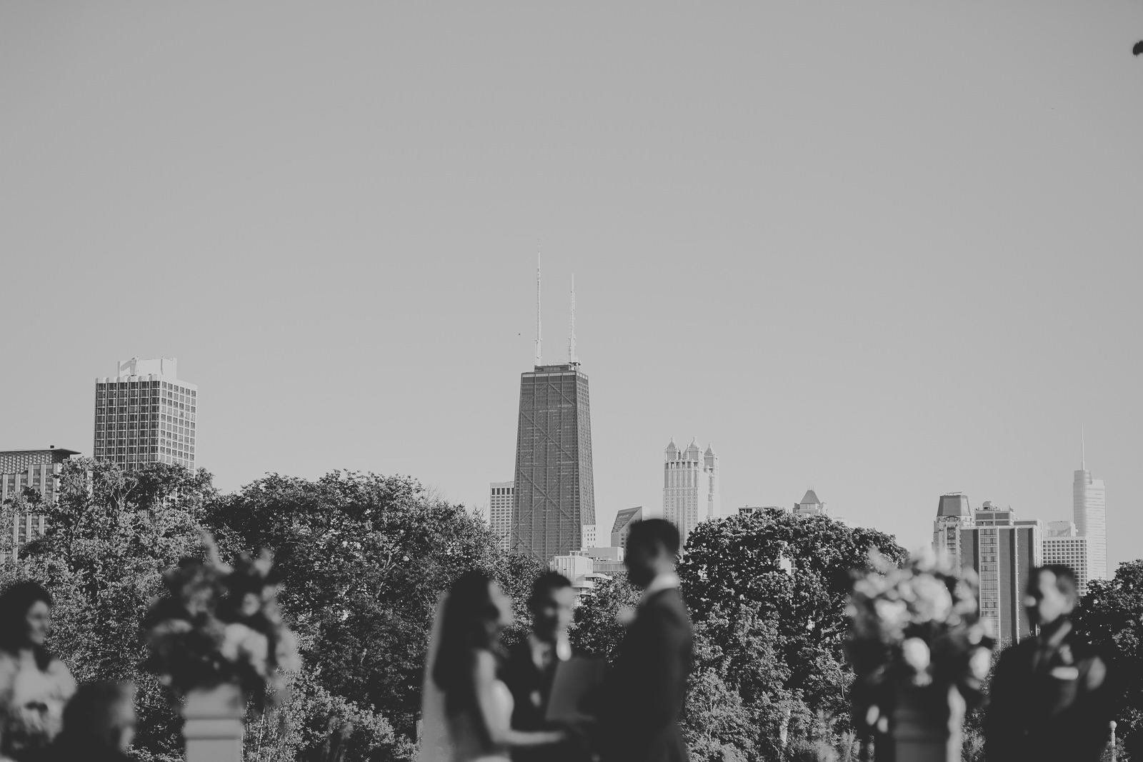 44 wedding at lincoln park zoo honeycomb - Natalie + Alan // Chicago Wedding Photographer at Cafe Brauer