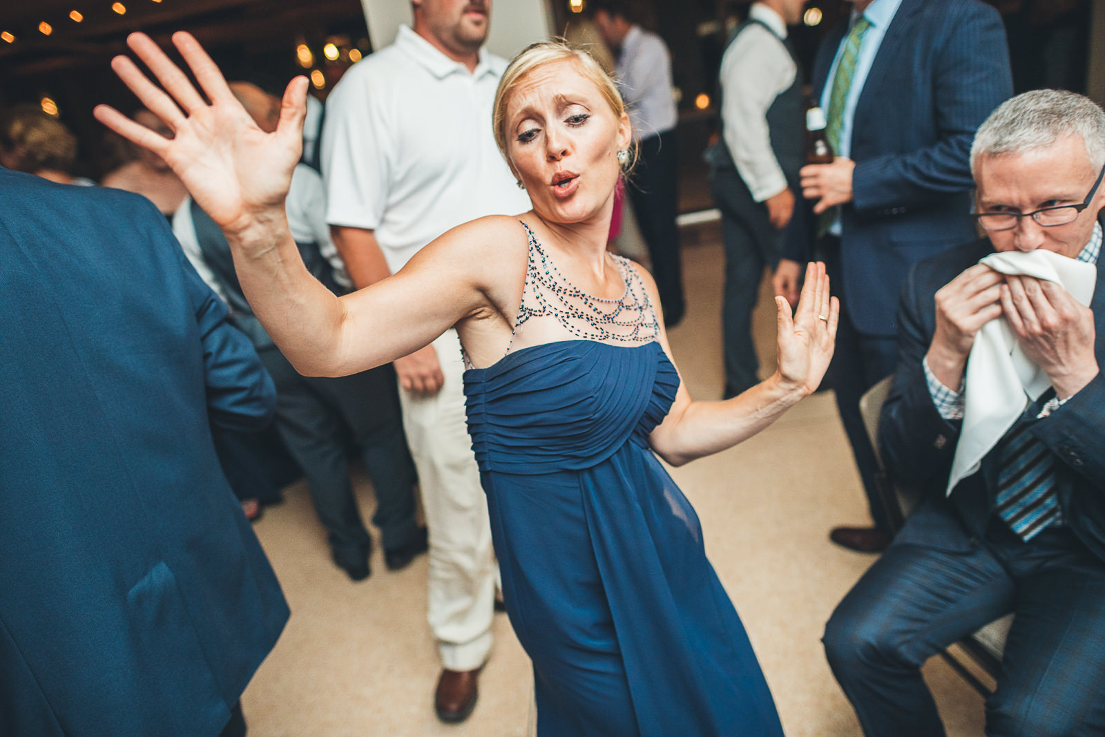 58 bridesmaid dancing