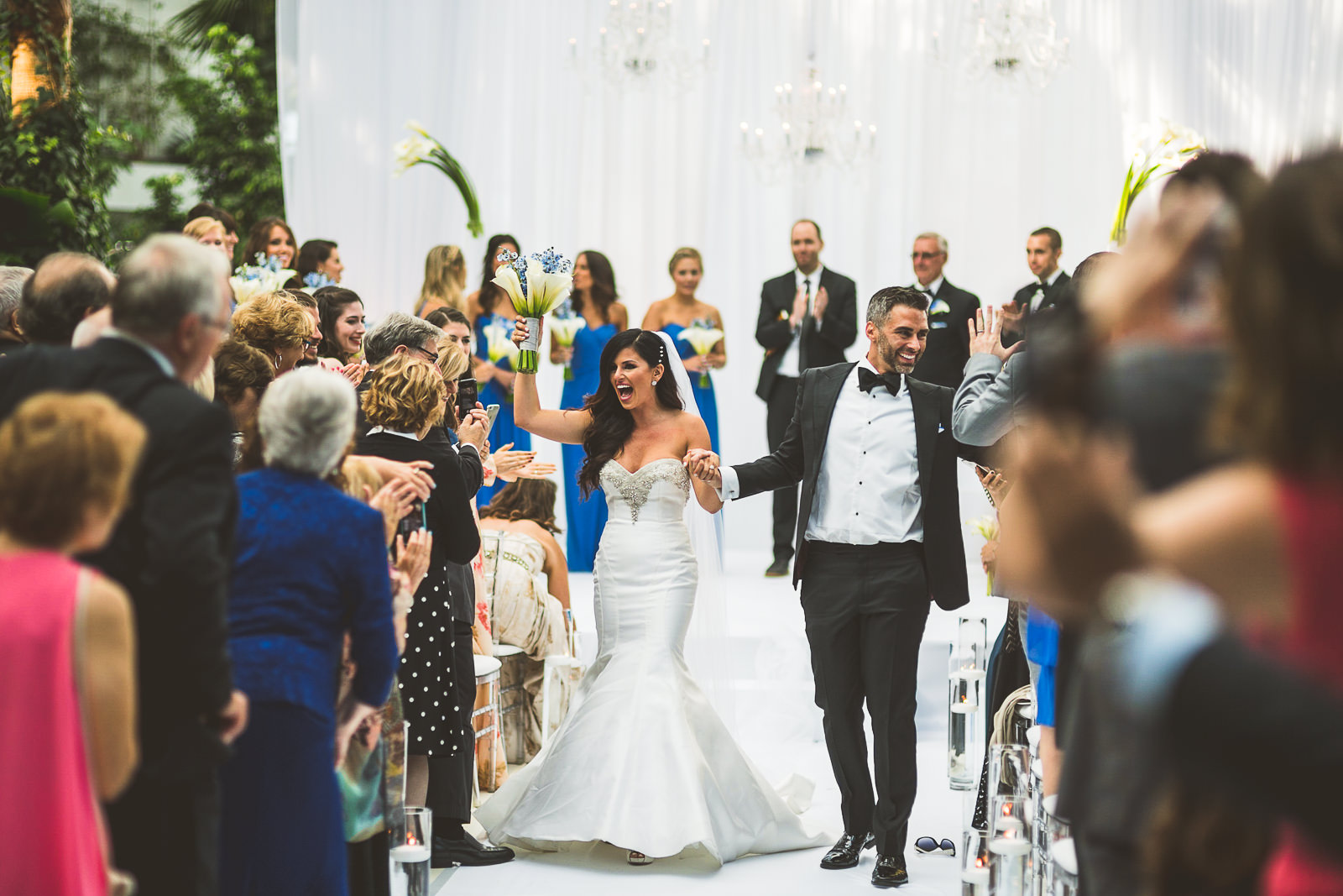 64 best wedding photos at navy pier crystal garden
