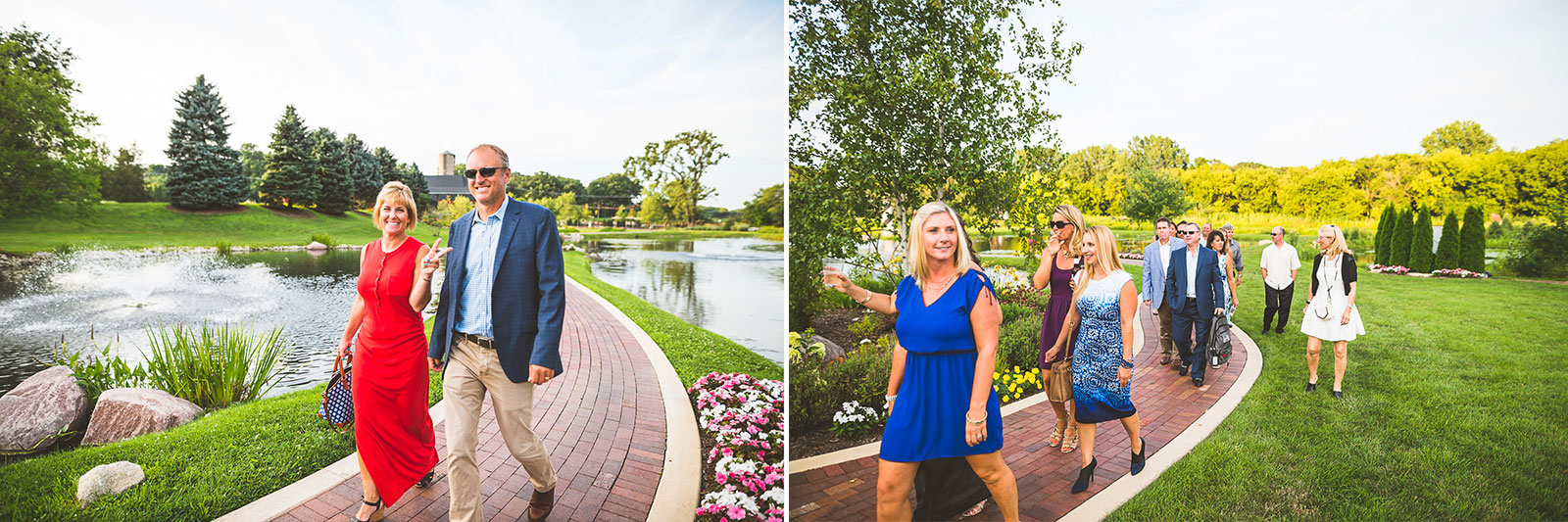 17 guests - Karen + Scott // Fishermens Inn Wedding Photographer Elburn Illinois