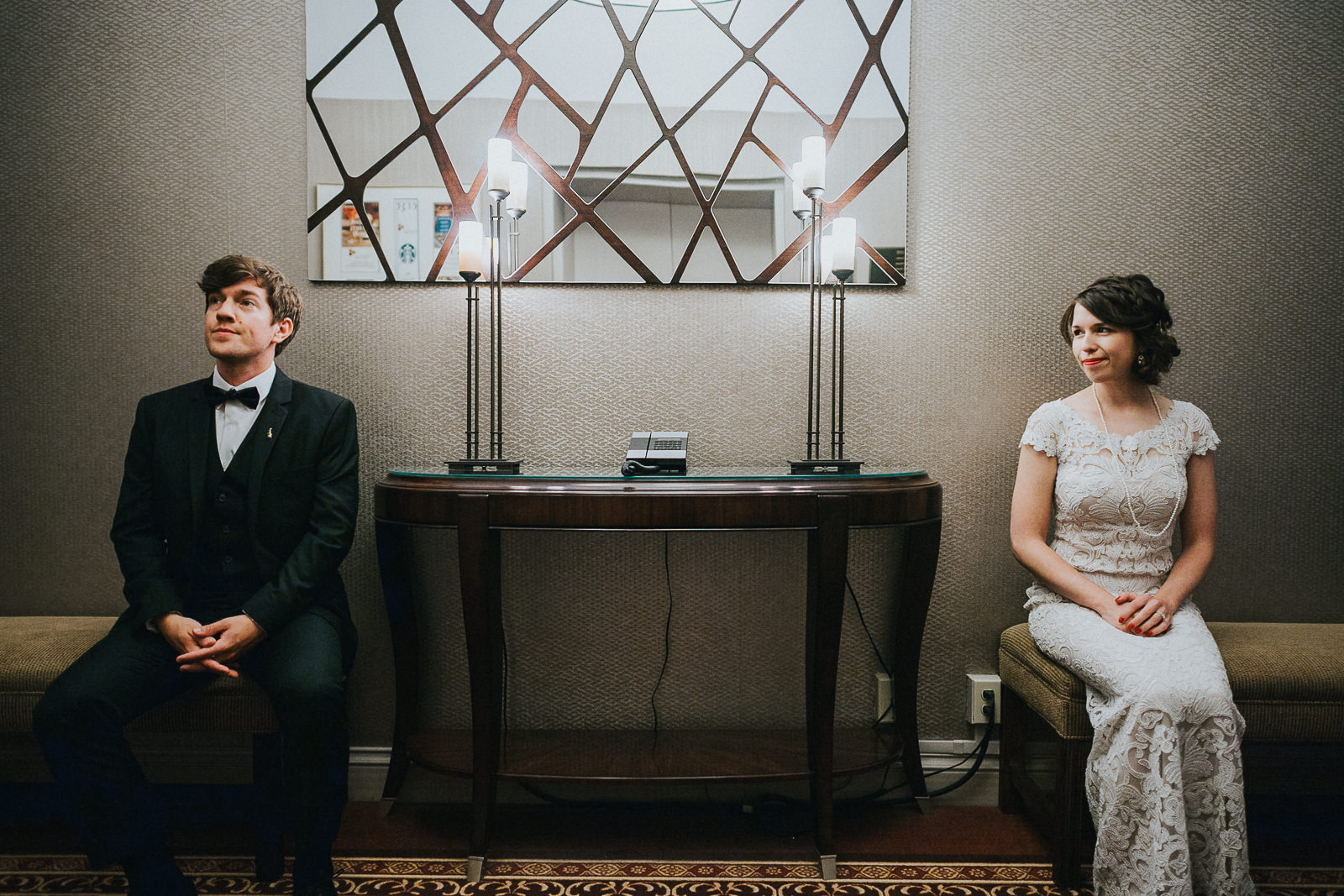 26 bride and groom hotel portrait