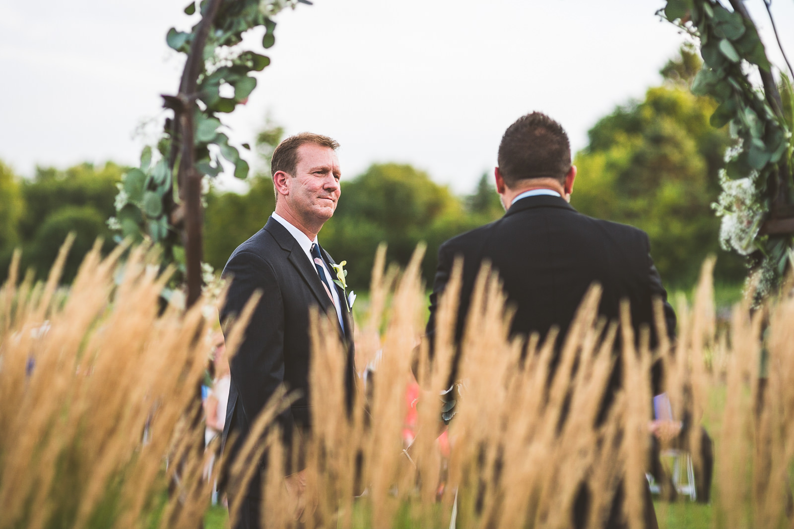 29 scotty - Karen + Scott // Fishermens Inn Wedding Photographer Elburn Illinois