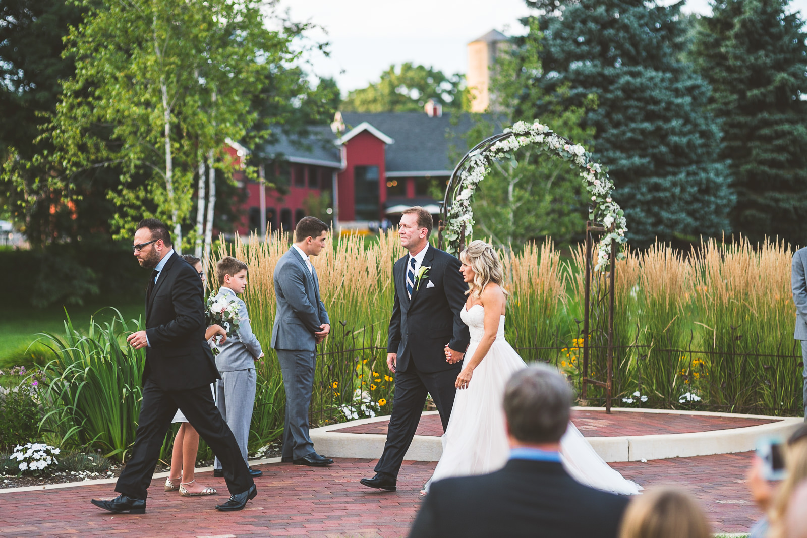 31 walking - Karen + Scott // Fishermens Inn Wedding Photographer Elburn Illinois