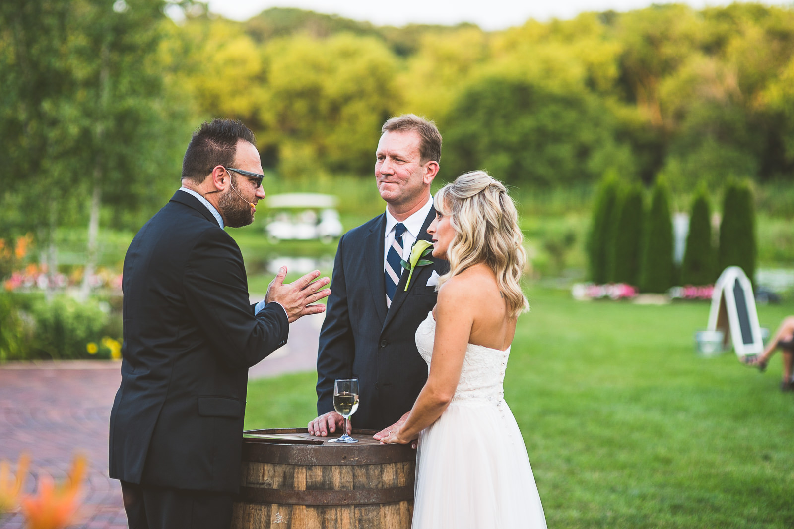 32 communion - Karen + Scott // Fishermens Inn Wedding Photographer Elburn Illinois