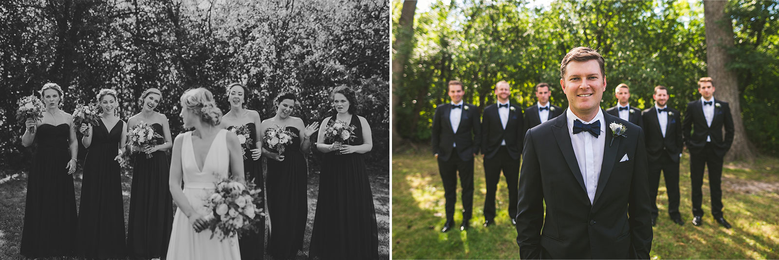 34 bridal party - Stephanie + Zack // Conway Farms Chicago Wedding Photographers