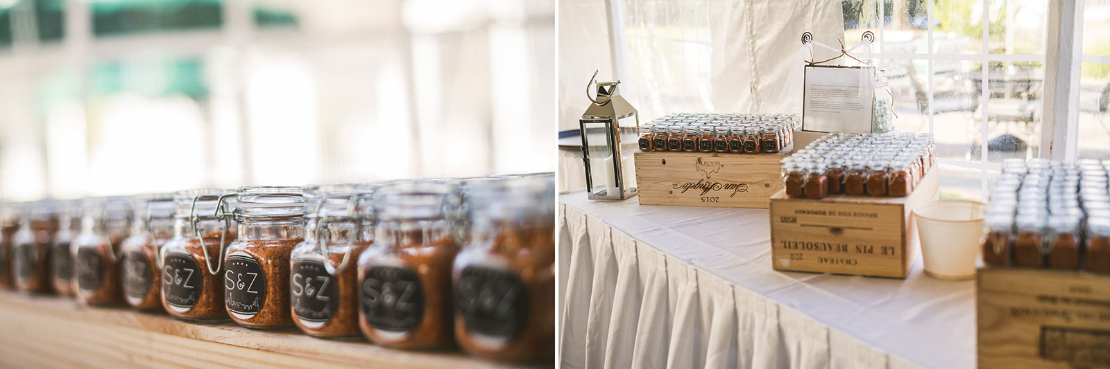 46 reception details - Stephanie + Zack // Conway Farms Chicago Wedding Photographers