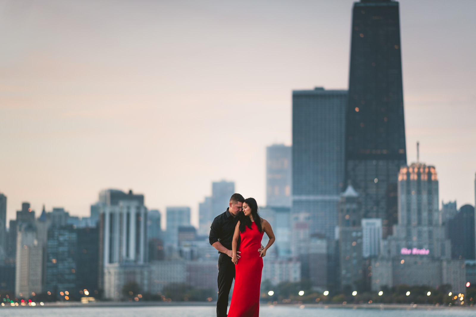 Chicago Engagement Session // Carmen + JC