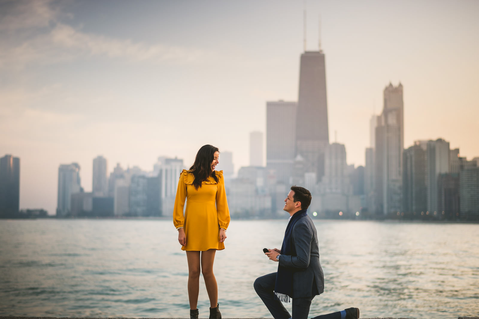 Best Locations to Get Engaged in Chicago
