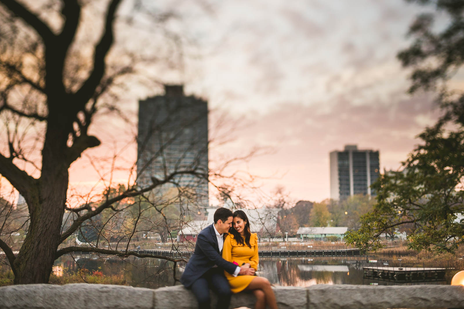 13 lincoln park engagement photos - Geraldine + Jose // Proposing in Chicago
