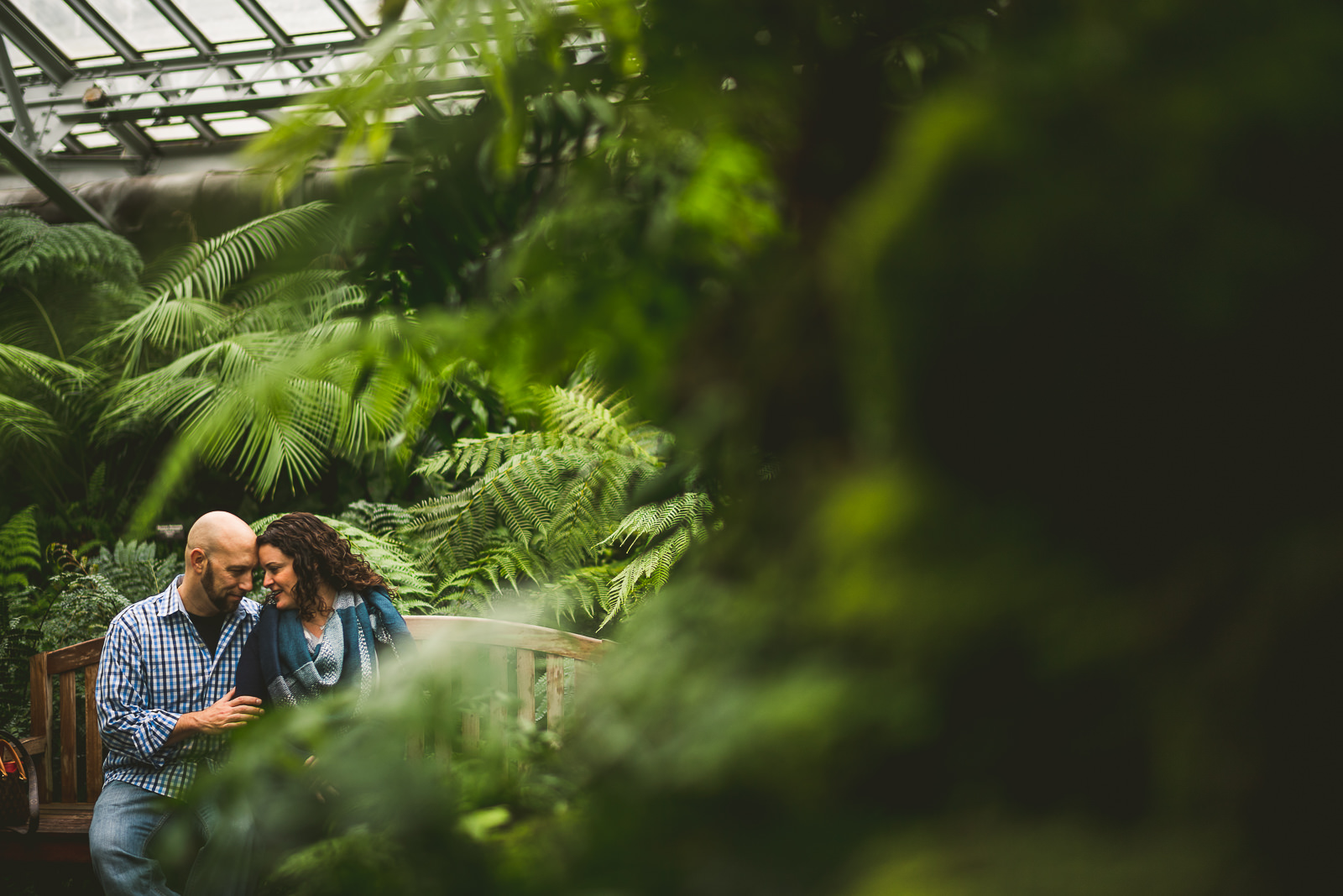 04 garfield park conservatory engagement session
