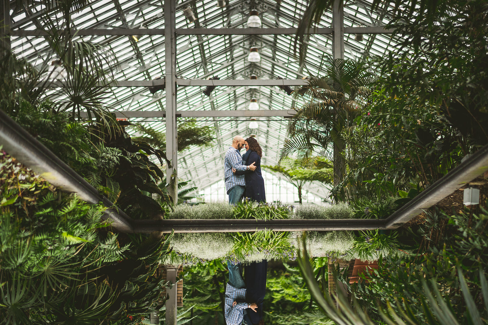 12 upside down reflection at garfield park conservatory