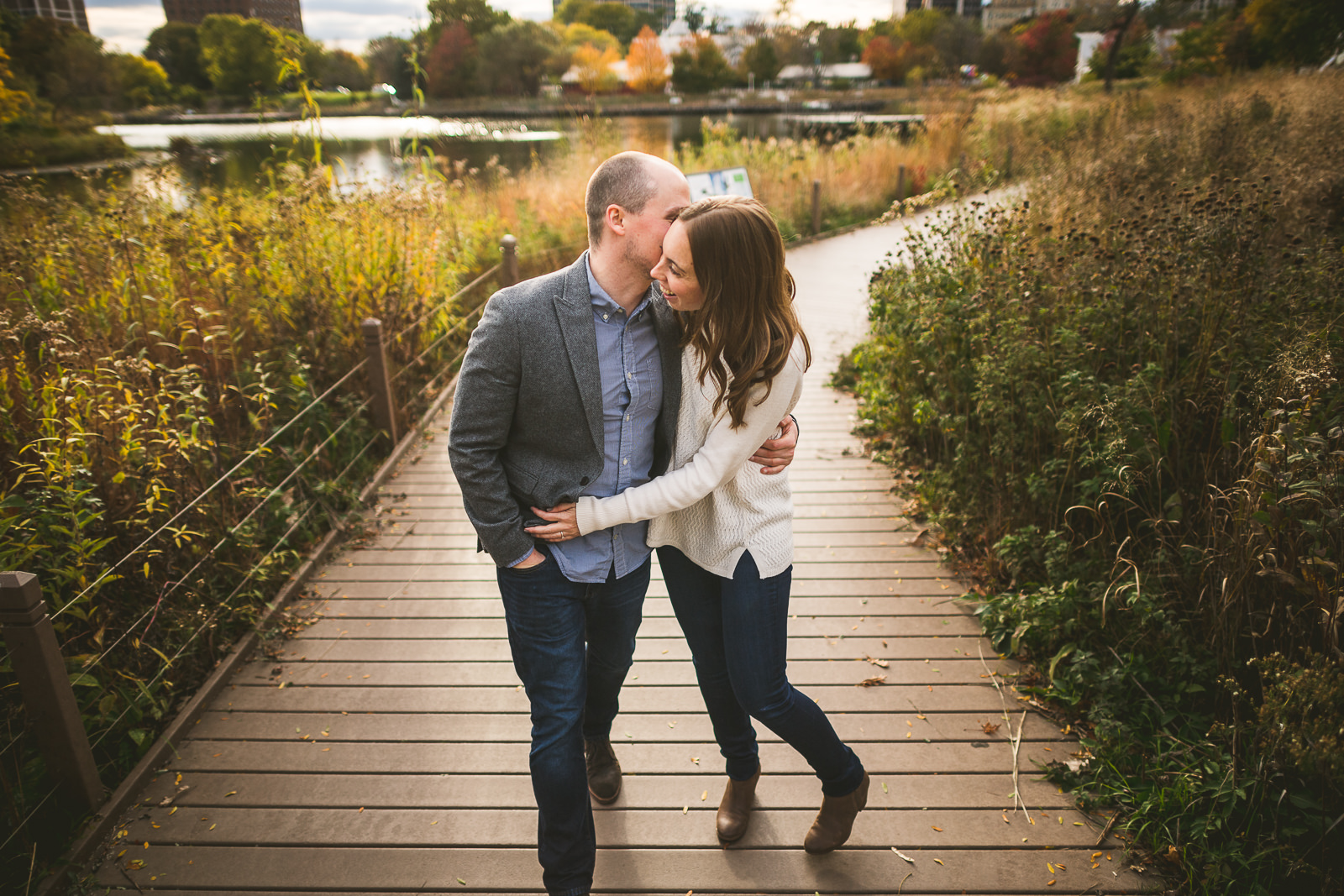 Chicago Engagement Session // Chelsea + Nick