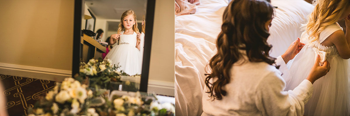 09 junior bridesmaid - Chicago Wedding Photography at Chicago Athletic Association // Alicia + Spencer