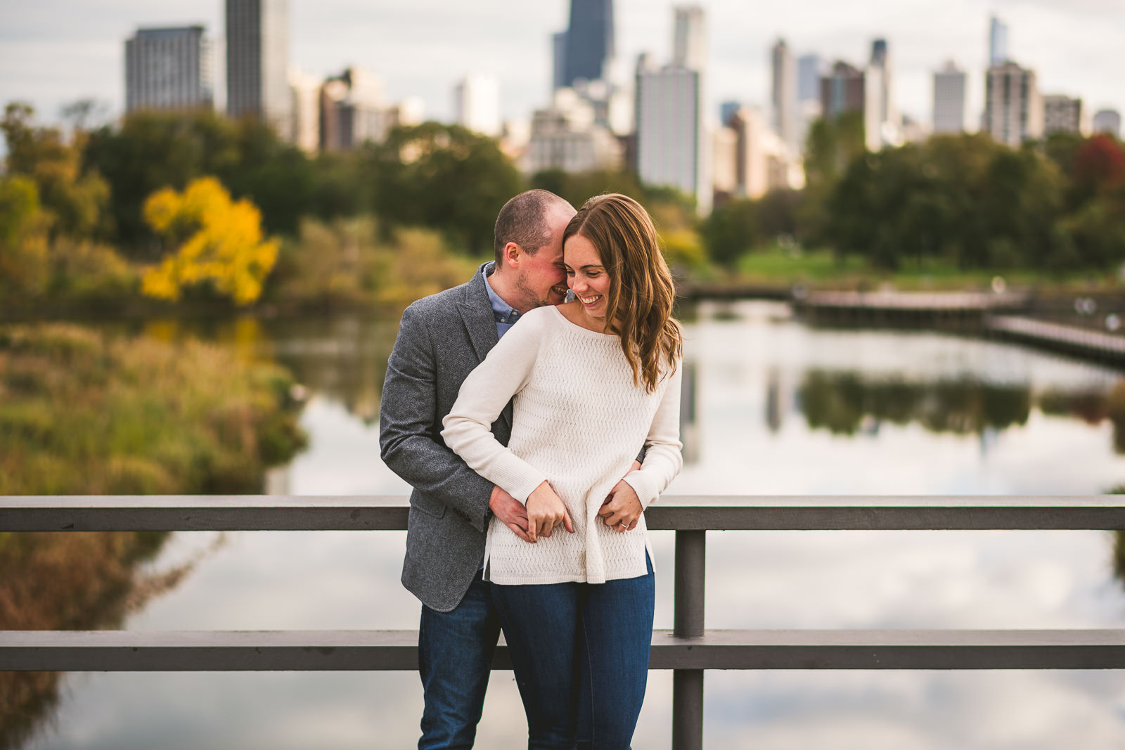 11 engagement chicago photography - Chicago Engagement Session // Chelsea + Nick