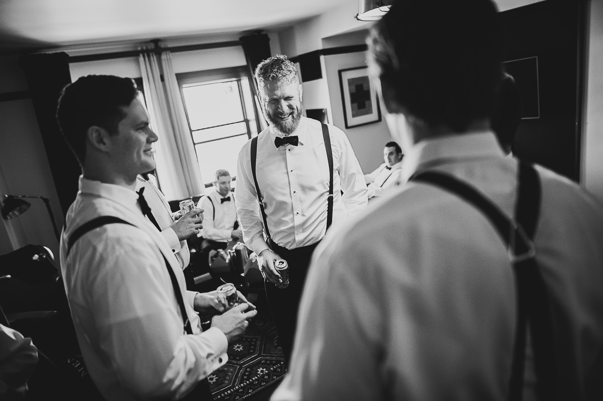 15 groomsmen - Chicago Wedding Photography at Chicago Athletic Association // Alicia + Spencer