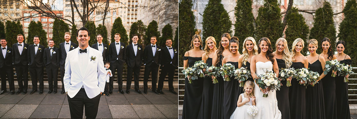 33 groomsmen - Chicago Wedding Photography at Chicago Athletic Association // Alicia + Spencer